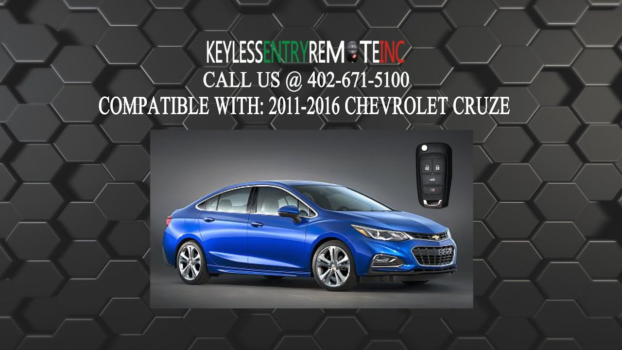 How To Replace Chevy Cruze Key Fob Battery 2011 2012 2013