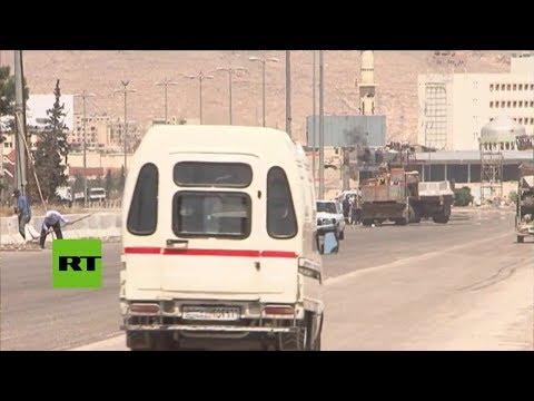 Siria: Se reinicia la reconstrucción de la carretera Damasco-Homs