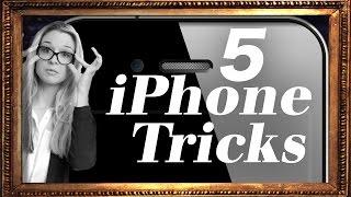 5 iPhone Tricks - Die Klugscheisserin