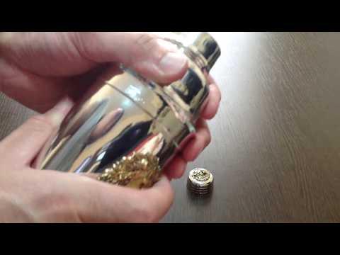 Шейкер SOHN SILVER GOLD (золотой) 0,5л.