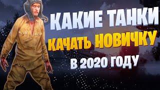 🎥ГАЙД КАКИЕ ТАНКИ КАЧАТЬ НОВИЧКУ В 2020   КАКИЕ ПЕРКИ СТАВИТЬ   ЧТО КАЧАТЬ В 2020 WOT