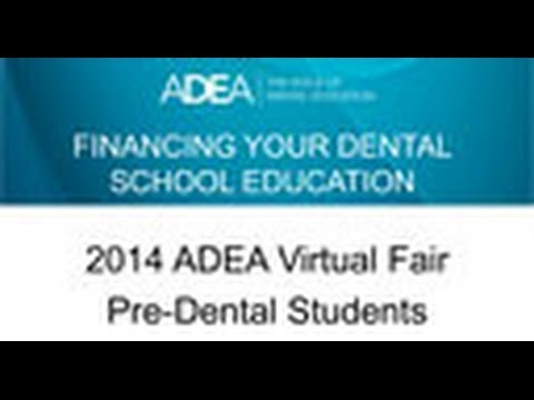 Financing Your Dental School Education