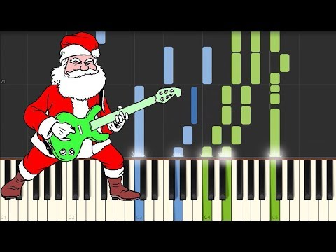 Jingle Bell Rock [Piano Tutorial] (Synthesia)