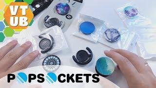 Popsockets - подставки для гаджетов. Распаковка и первое знакомство