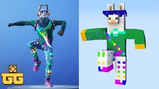 Monster School : Fortnite Dance Challenge Season 6 - Minecraft Animation
