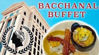Bacchanal Buffet Brunch 2017 - 4K Fully Food Tour