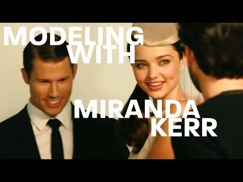 JASON DUNDAS IS MODELING WITH MIRANDA KERR  making it