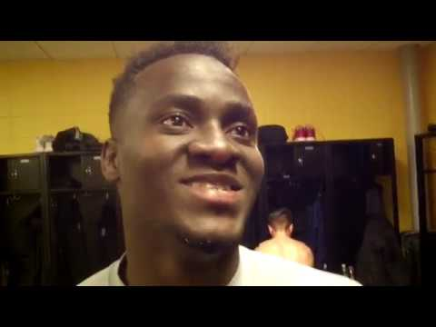 David Accam Post Game 3/4/17