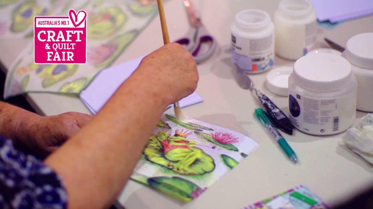TV AD - Melbourne Craft & Quilt Fair 2016 - YouTube : brisbane craft and quilt fair - Adamdwight.com