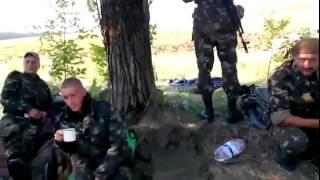 За день до СМЕРТИ Украинские военные Уничтоженый БЛОКПОСТ Волноваха Славянск Краматорск Луганск
