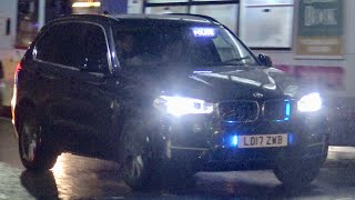 Greater manchester police tactical firearms unit unmarked x5 responding ----------------------| contact us |---------------------- website: https://www.firep...