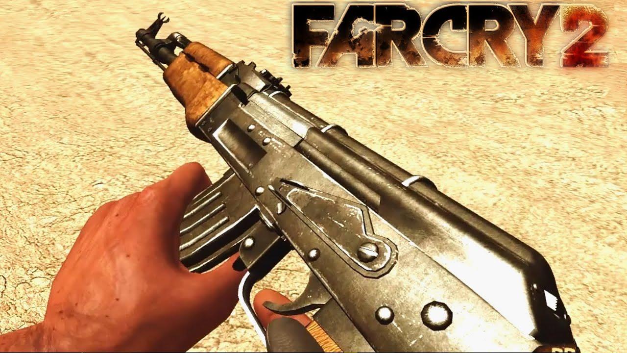 far cry 2 gameplay ak47 kills explosive shotgun youtube
