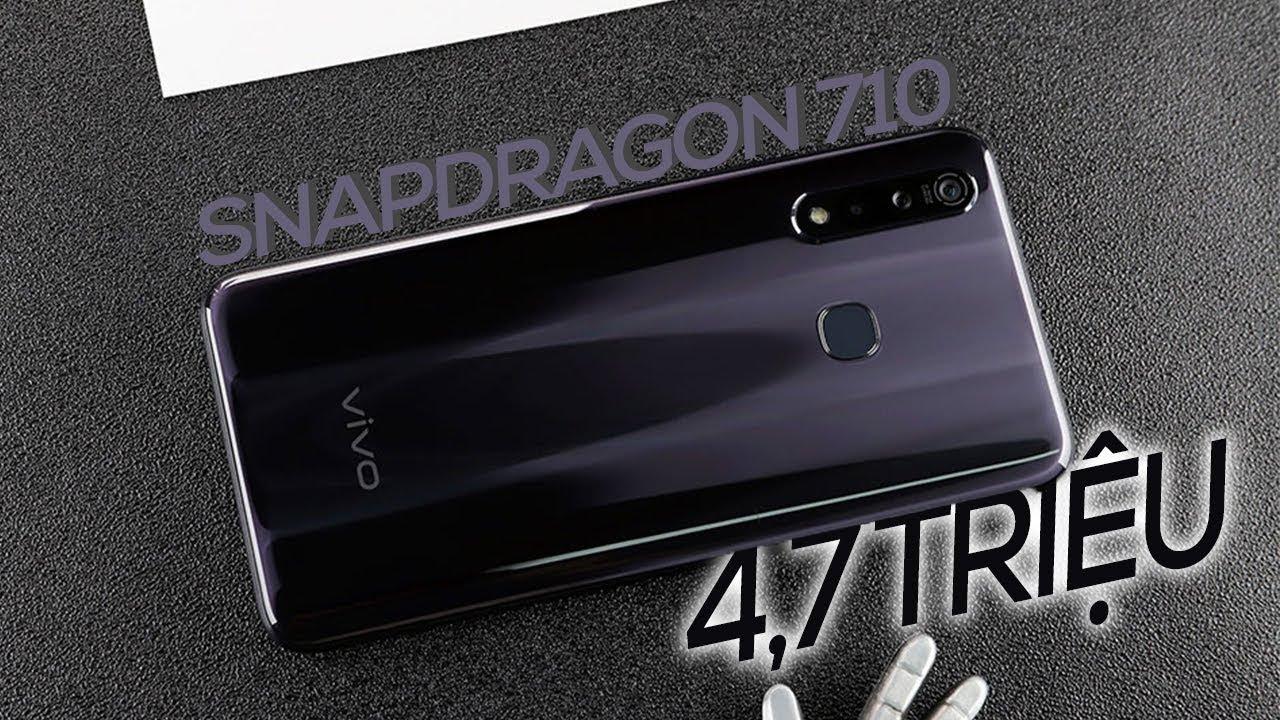 Đây là Vivo Z5X Snapdragon 710, 3 camera, pin 5000mAh giá chỉ 4,7 triệu
