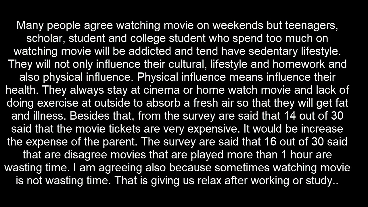 impact of movies