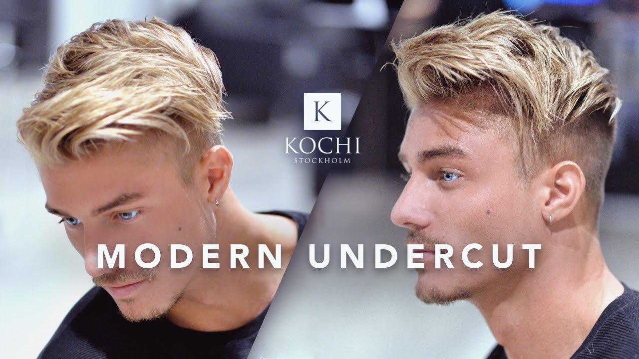 modern undercut cool and popular