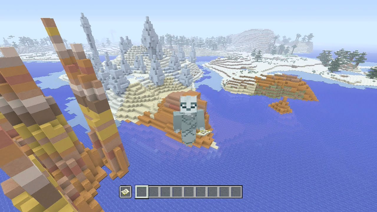 Minecraft Xbox One /PS12 TU12 Seed: Epic All Biome Classic Seed!