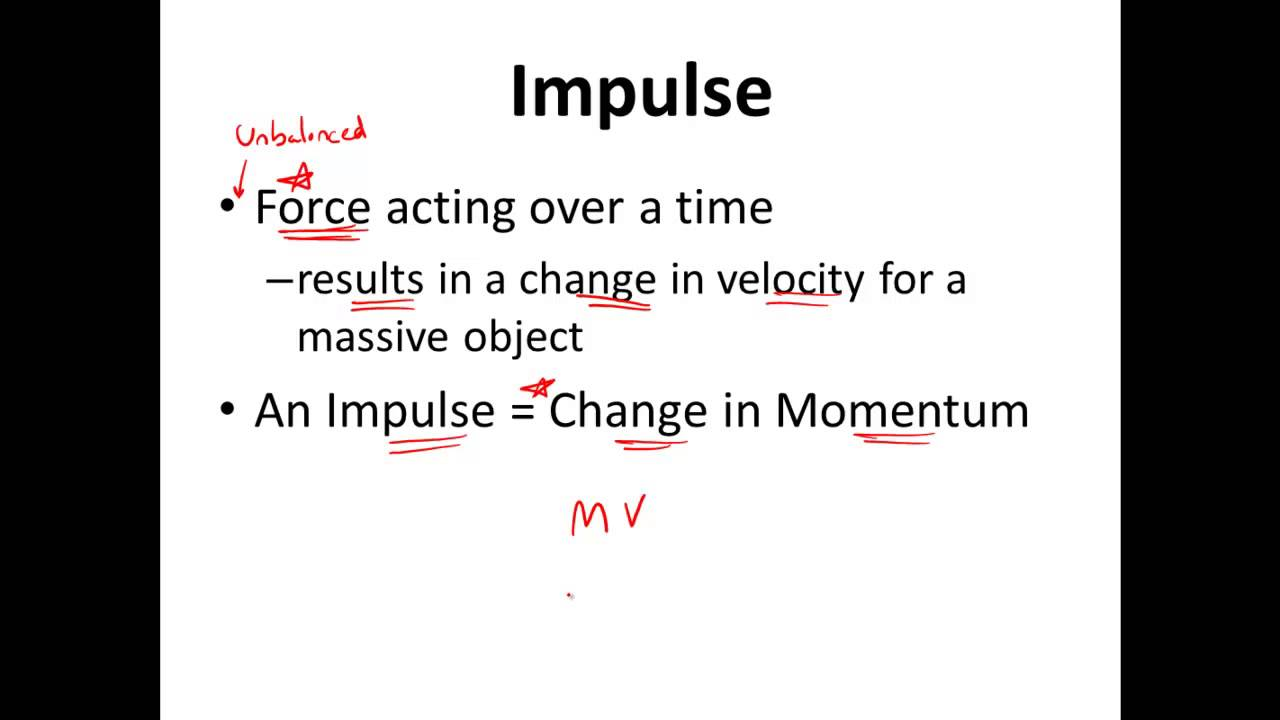 Introduction to Momentum  Impulse in Physics  Car Air Bags  YouTube