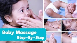 How To Massage A Baby | Step By Step Techniques + Benefits