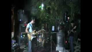 ARCATAV  jammin Crossroad Blues with Thomas Tiefenbacher on drums in Calabria
