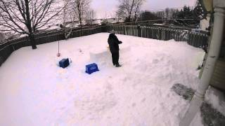 How To: Build A Pure Snow Beer Pong Table!