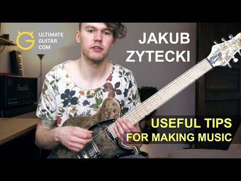 Useful Tips for Making Guitar Music by Jakub Zytecki