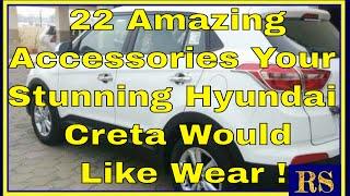 22 Amazing Accessories Your Stunning Hyundai Creta Would Like Wear