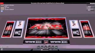 Wwe Raw Live Show (Roblox)