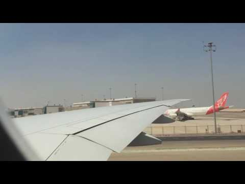 MY FLIGHT ON BOEING 777-300 ER SAUDIA AIR LINES FROM CAIRO TO JEDDAH