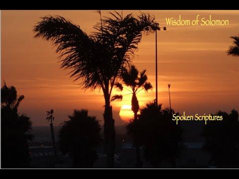 Wisdom of Solomon, Female Voice, Audio Book