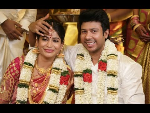 Actress Vijayalakshmi Wedding Reception | Actor Vishal, Karthi, Nassar, Venkat Prabhu at Marriage