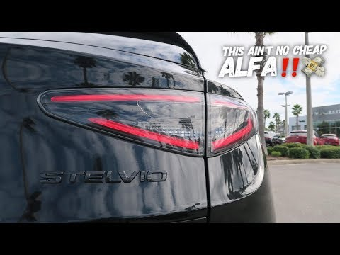 The Coolest And MOST Expensive Alfa Romeo Stelvio Carbon!