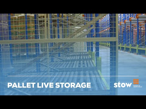 Pallet Live Storage By Stow