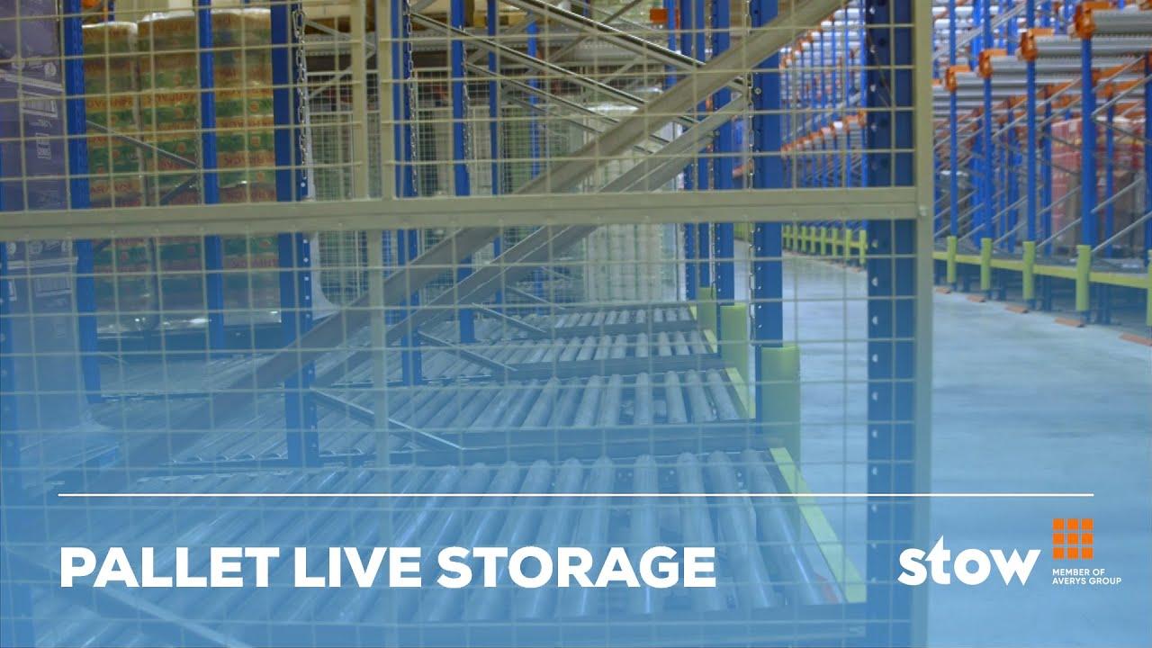 Pallet Live Storage, Push Back Racking & Pallet Flow Racks | Stow