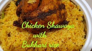 Shawaya chickenRoasted chicken with Bukhari rice