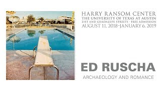 Ed Ruscha: Archaeology and Romance thumbnail