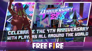 Experience the 4nniversary Party | Garena Free Fire screenshot 3