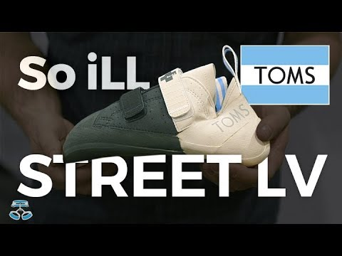 119faf3aafc So iLL Street LV TOMS collaboration climbing shoe - YouTube
