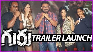 Venkatesh's Guru Theatrical Trailer Launch Video | Ritika Singh | Sudha Kongara | Latest Movie
