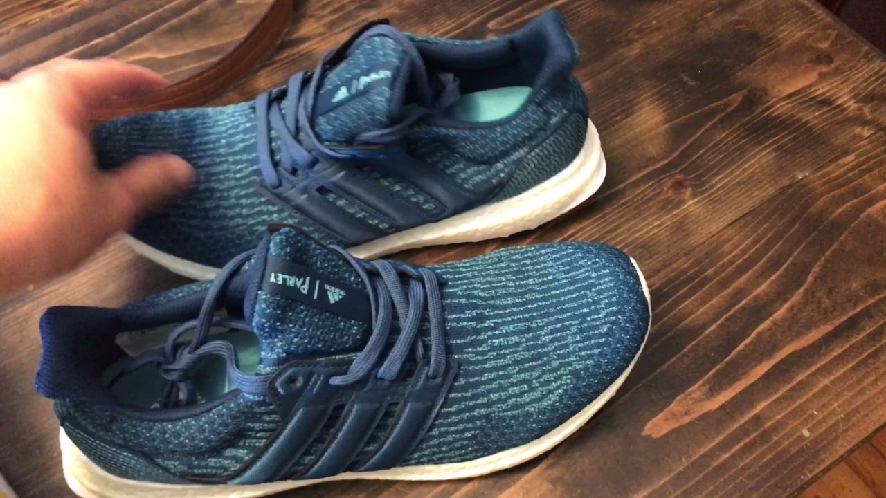 fcf803847a759 Adidas Parley Ultra Boost and Parley Uncaged Unboxing - YouTube
