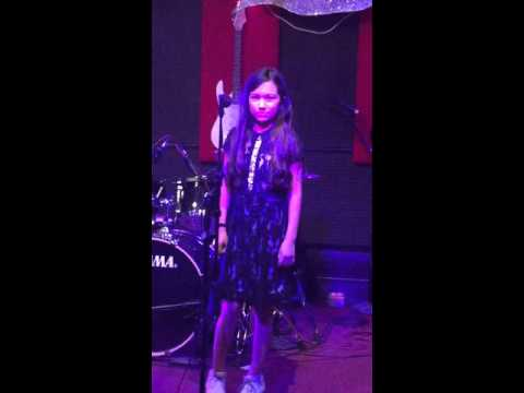 Lauren Montemayor music recital 2016. Viva La Vida by Coldplay.