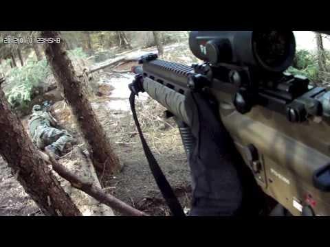 Meadow View Airsoft - Elite Force VFC M27 IAR Gameplay Demolition/TDM