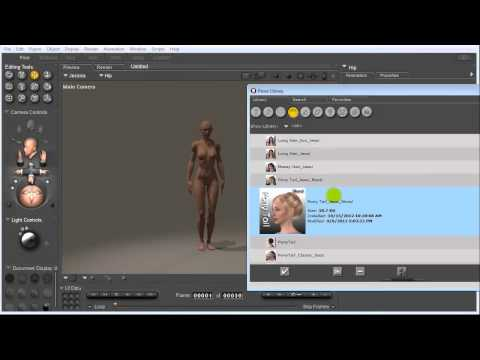 LightWave Getting Started with Poser Tutorial