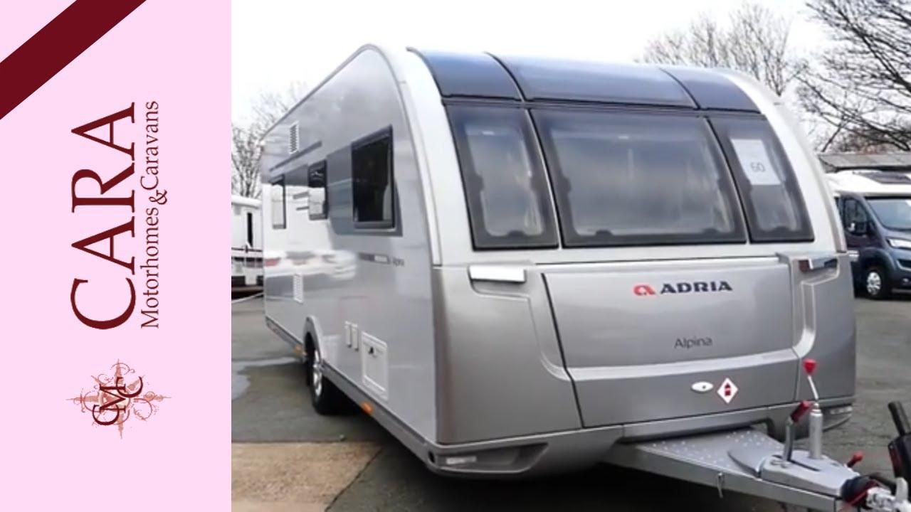 Adria Alpina 613 UC MISSOURI Caravan Tour
