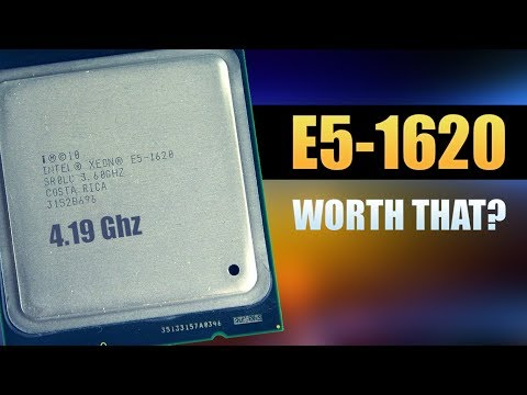 INTEL XEON E5-1620 OC - TEST AND REVIEW IN 2019