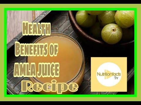 Top Health Benefits of AMLA JUICE   Recipe   Indian Gooseberry