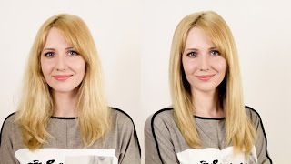 Смотреть видео  если волосы прямые и плохо укладываются