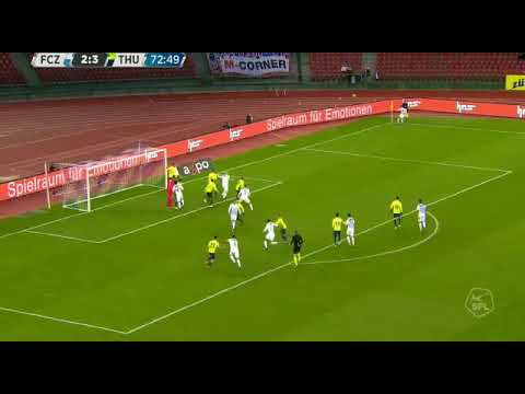 Odey goal number 2 in five games for FC Zurich