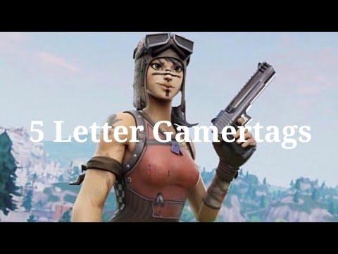 Clean OG 5 Letter Gamertags Not Taken 2019 (Xbox/PS4) Pt 1