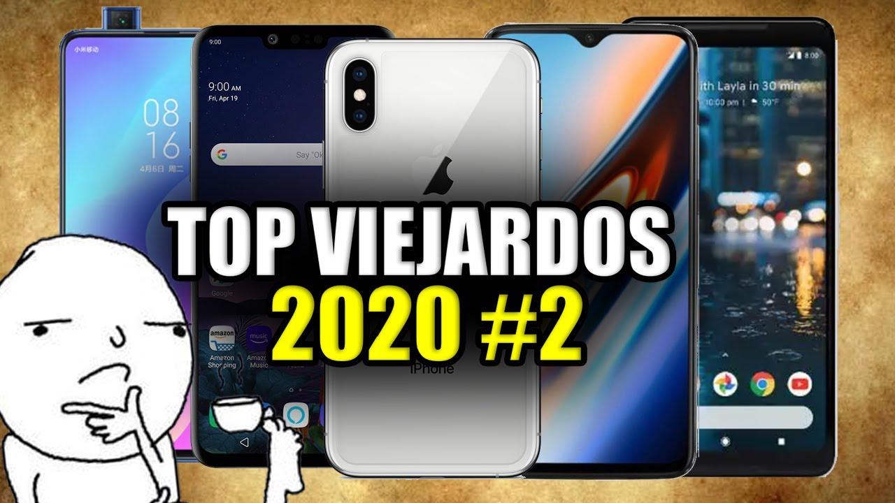 Top MEJORES Celulares VIEJARDOS #2 del 2020