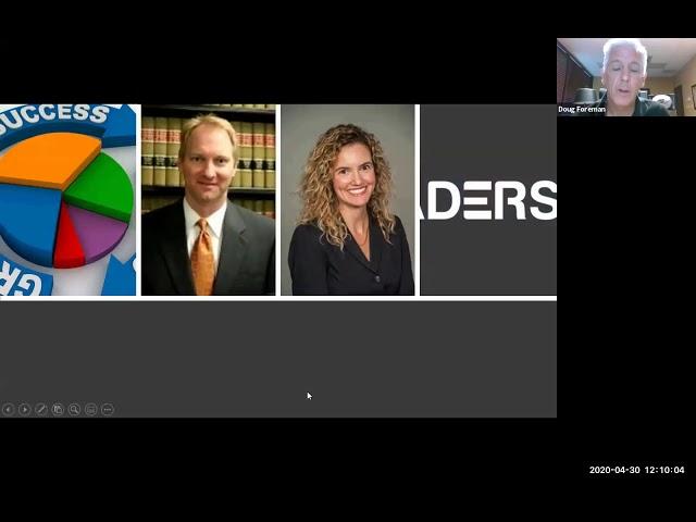CEO Leadership Forums 4/30/2020 Webinar Conference -